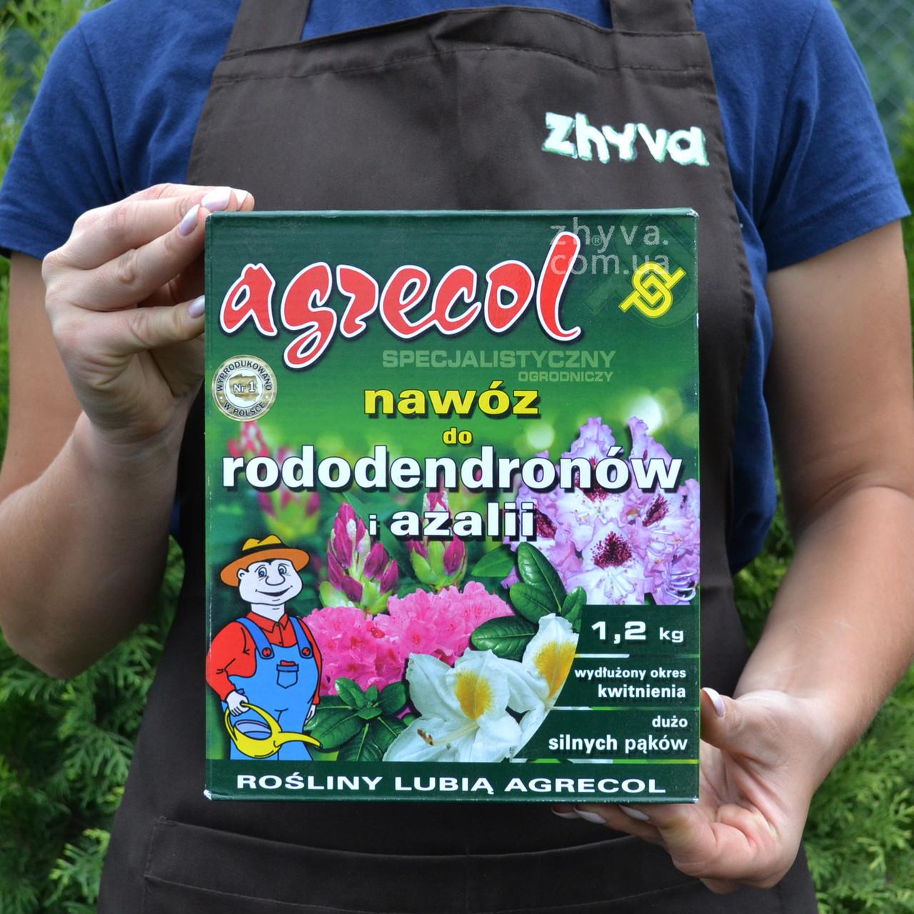 Добриво Agrecol для рододендронів та азалій 1,2кг