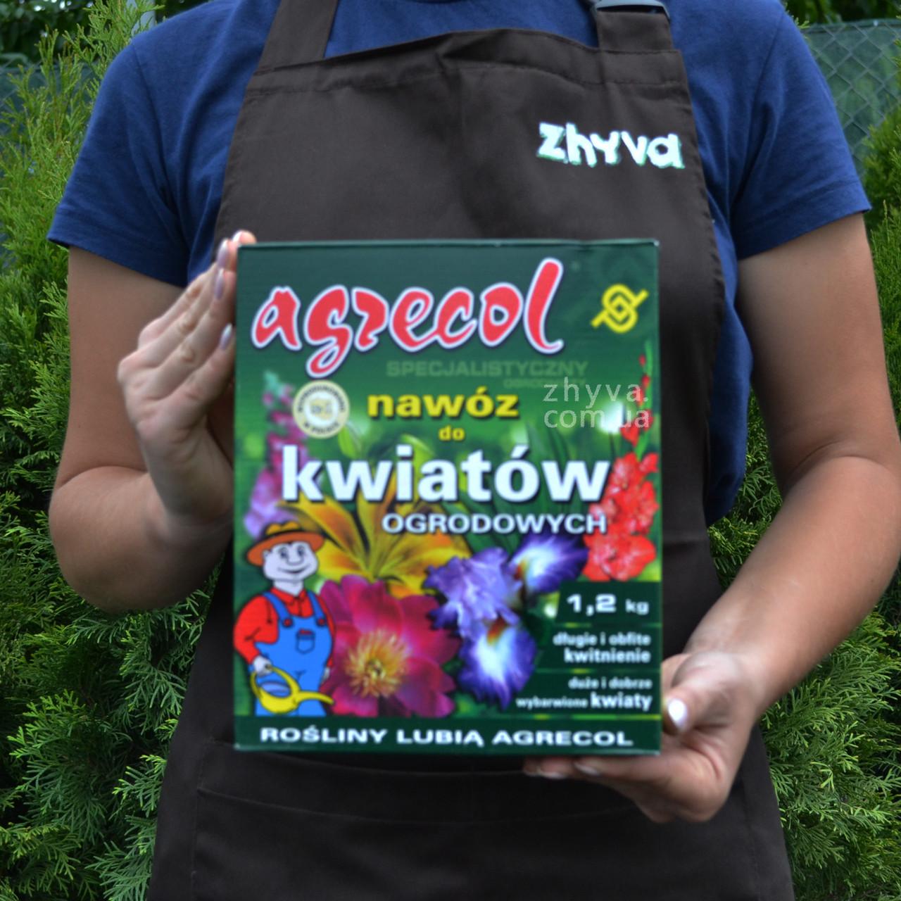 Добриво Agrecol для садових квітів 1,2кг