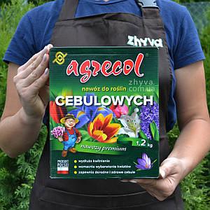 Добриво Agrecol для цибулькових квітів та багаторічних рослин 1,2кг