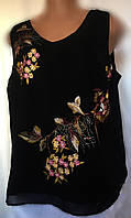 Женская шифоновая блуза John Rocha большой размер 52/56, фото 1
