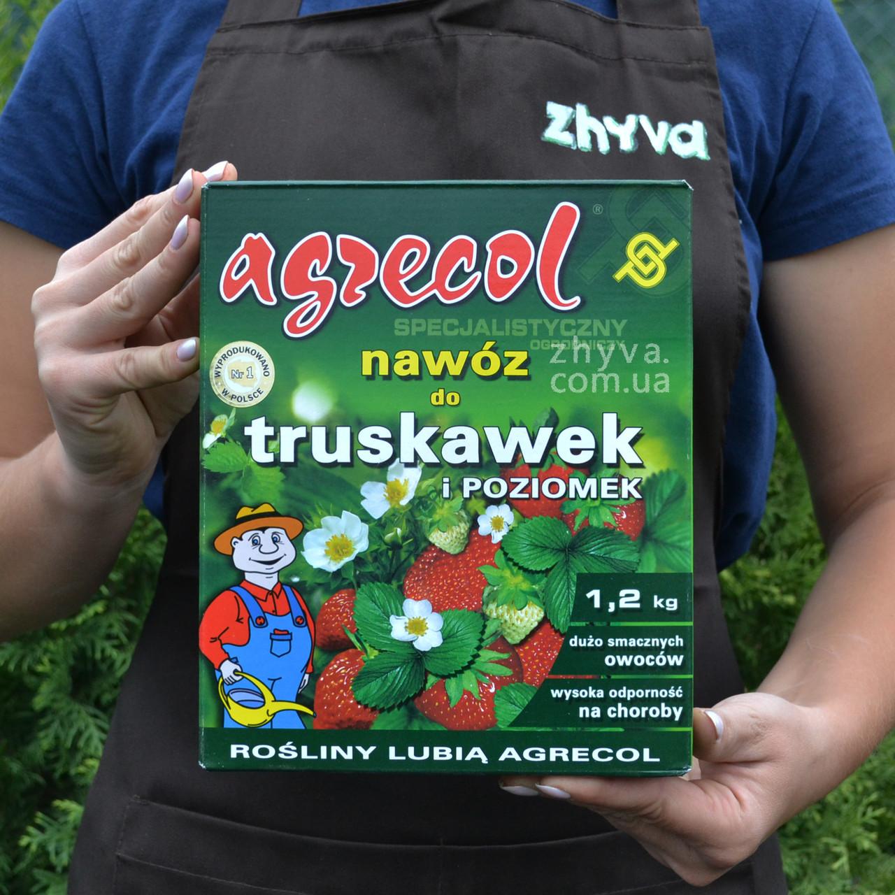 Добриво Agrecol для полуниці та суниці  1,2кг