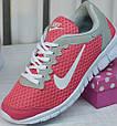 Кроссовки Nike Free Run pink 36//37//38, фото 2