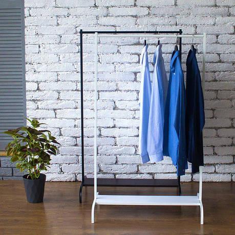 Стойка для одежды Гамма 2 (металл/дерево), фото 2