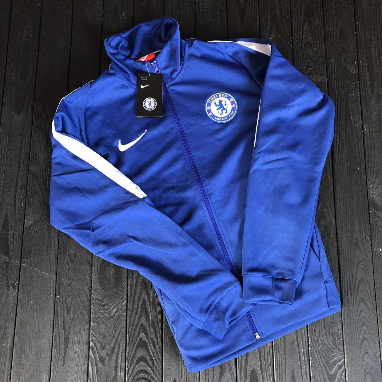 Спортивная (тренировочная ) кофта Челси (Chelsea) 2018-2019 сезона - Sport  Exclusive e8641c49363