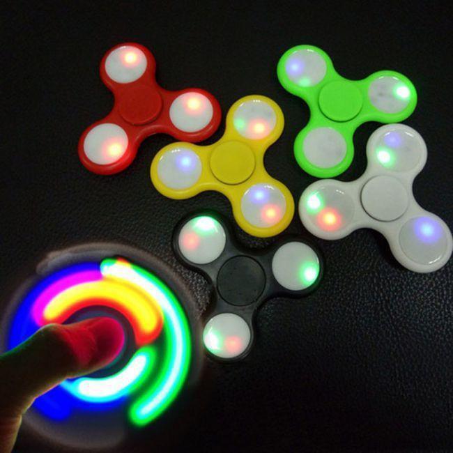 Спиннер светящийся Fidget Toy Spectre