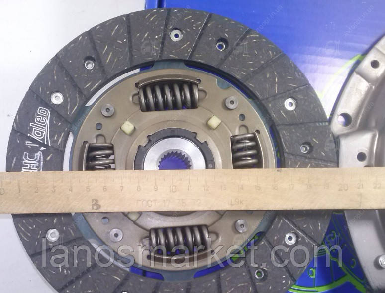 Комплект сцепления Ланос 1,4-1,5 8кл, Нексия 1,5 16кл (VALEO) Корея