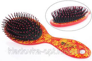 Расчёска массажная Salon Professional 6902L  цвет в ассортименте, фото 2