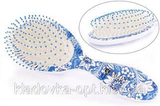 Расчёска массажная Salon Professional 6902L  цвет в ассортименте, фото 3