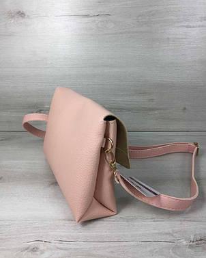 c2f25116358e Женская сумка- клатч Келли пудрового цвета: продажа, цена в Луцке ...