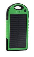 Power Bank 10800 mAh с солнечной батареей (противоударный/водонепроницаемый)