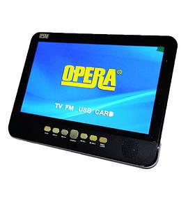 Портативный телевизор NS-1001, телевизор в авто, 10 дюймов, Opera NS-1001, Opera 1001 TV USB+SD
