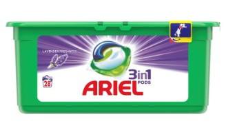 Капсули для прання ARIEL & lavender universal 28 шт.