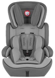 Детское автокресло Lionelo Levi Plus Grey (9-36 кг) Польша