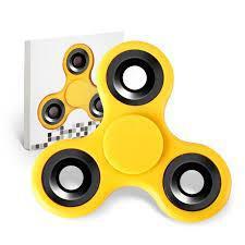 Спиннер Fidget Toy вертушка Simple yellow