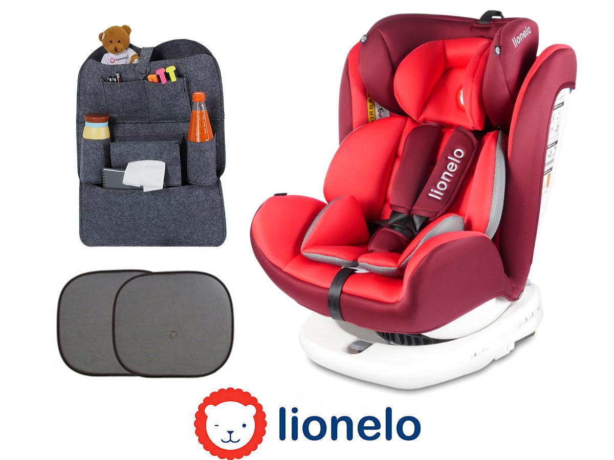 Детское автокресло Lionelo Bastiaan (0-36 кг) Red Польша