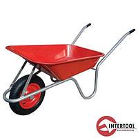 Тачка садово-будівельна одноколісна InterTool 65л,130кг