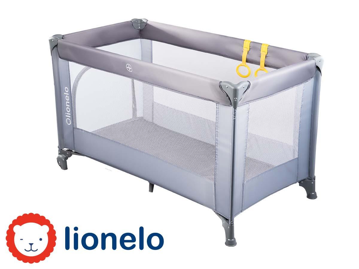 Детский манеж детская кроватка Lionelo Suzie Grey
