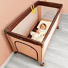 Детский манеж детская кроватка Lionelo Suzie Grey, фото 8