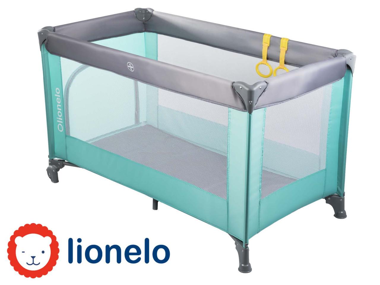 Детский манеж детская кроватка Lionelo Suzie Turquoise