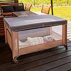 Детский манеж детская кроватка Lionelo Suzie Turquoise, фото 9