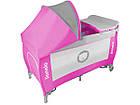 Детский манеж детская кроватка Lionelo Sven Plus Pink, фото 3