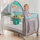 Детский манеж детская кроватка Lionelo Sven Plus Pink, фото 10