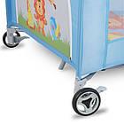 Детский манеж детская кроватка Lionelo Stella Brown Польща, фото 9
