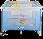 Детский манеж детская кроватка Lionelo Stella Brown Польща, фото 10