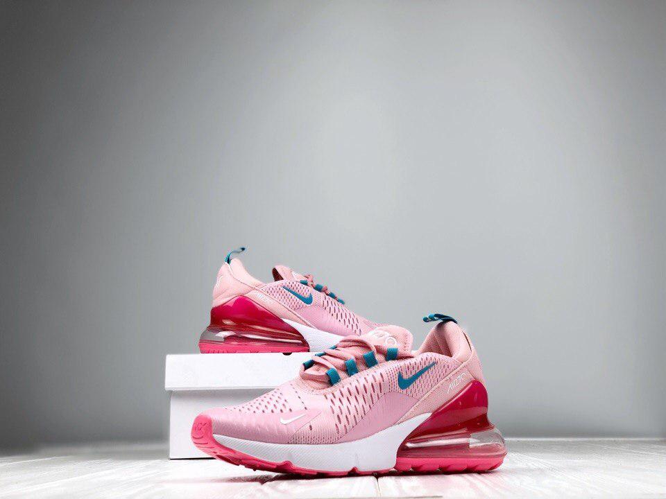 6c3bb553 Женские кроссовки Nike Air Max 270 Pink найк розовые - Интернет-магазин  одежды и аксессуаров