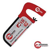Ножівка по металу InterTool L-150мм (пласт. рукоят.)