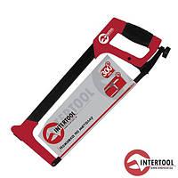 Ножівка по металу InterTool L-300мм (метал. рукоят.)