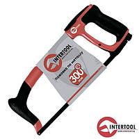 Ножівка по металу InterTool L-300мм (метал. рукоят.прорез.)