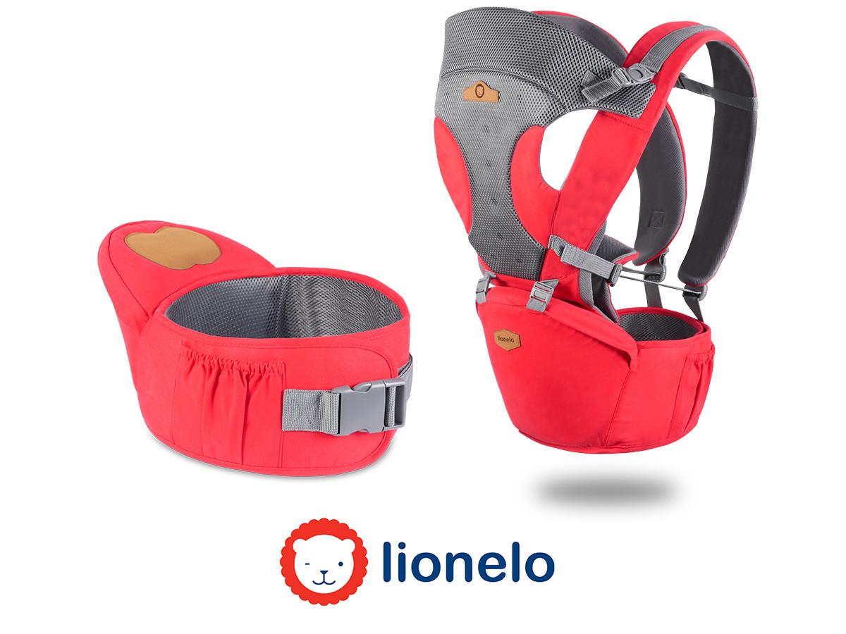 Рюкзак кенгуру для переноски детей Lionelo Lauren 2в1 Red