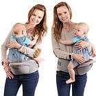 Рюкзак кенгуру для переноски детей Lionelo Lauren 2в1 Red, фото 6