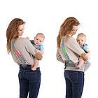Рюкзак кенгуру для переноски детей Lionelo Lauren 2в1 Red, фото 8