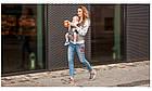 Рюкзак кенгуру для переноски детей Lionelo Lauren 2в1 Red, фото 10