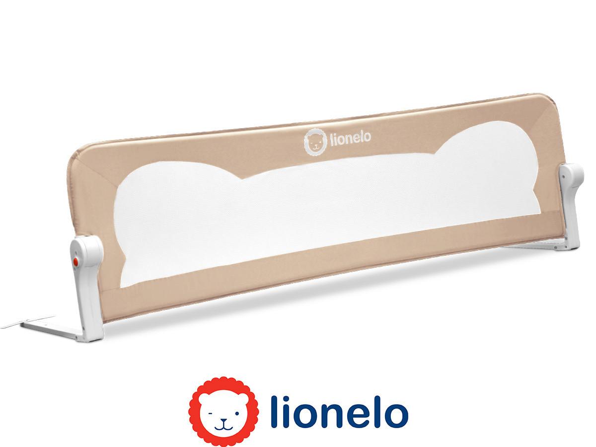 Защитная барьерка на кроватку перегородка на кровать Lionelo Eva Beige