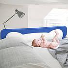 Защитная барьерка на кроватку перегородка на кровать Lionelo Eva Beige, фото 9