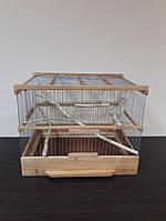 Клетка деревянная для птиц