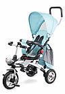 Детский трехколесный велосипед с родительской ручкой  Lionelo TIM PLUS Blue, фото 2