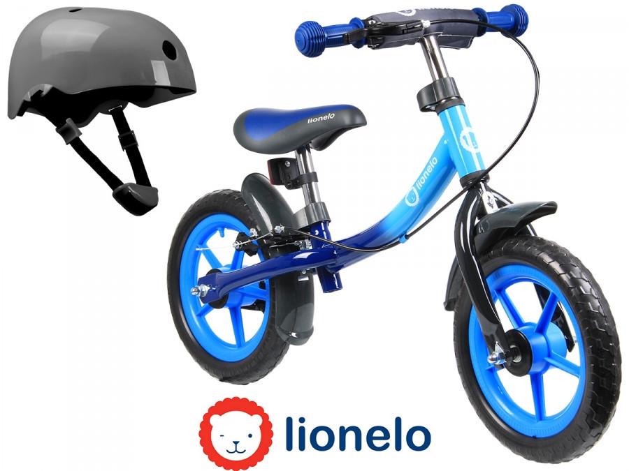 Детский велобег беговел Lionelo Dan 12 Blue Польша