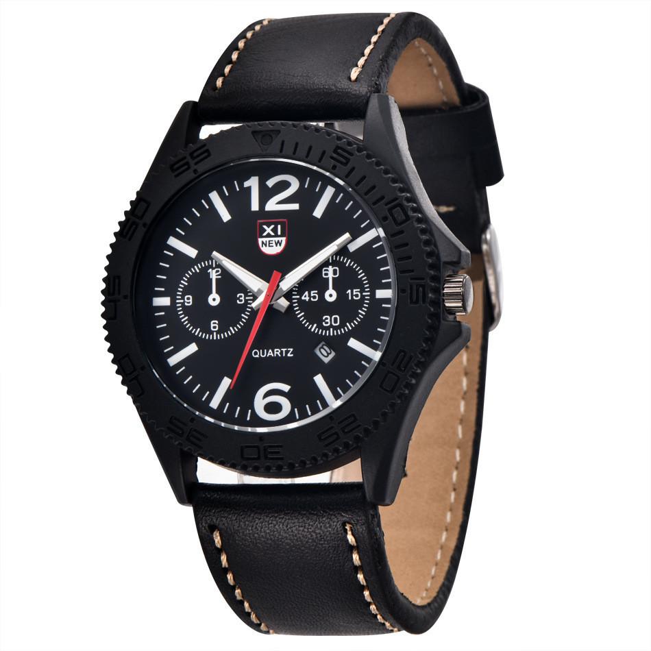 Часы мужские наручные XI New Tiger black-black