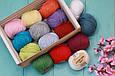 Хлопок Пима FibraNatura Cotton True Sport, Сирень №107-11, фото 8