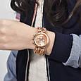 Часы женские наручные Geneva Imprez rose gold, фото 4