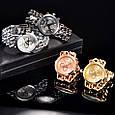 Часы женские наручные Geneva Imprez rose gold, фото 7