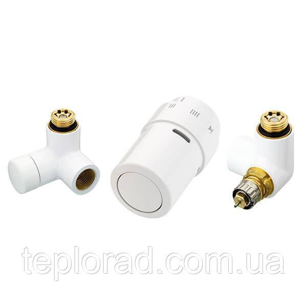 Комплект термостатический Danfoss RAX-set для радиаторов Белый/правый