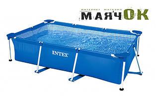 Прямоугольный каркасный бассейн Intex 28271, 260см-160см-65см