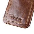 Кард-кейс кредитница кошелек Gubintu Slim brown, фото 5