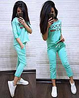 Женский спортивный костюм Gucci рваный 3394cbddc54