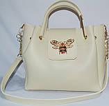 Женские сумки брендовые 2-в-1(бронза)25*25, фото 5